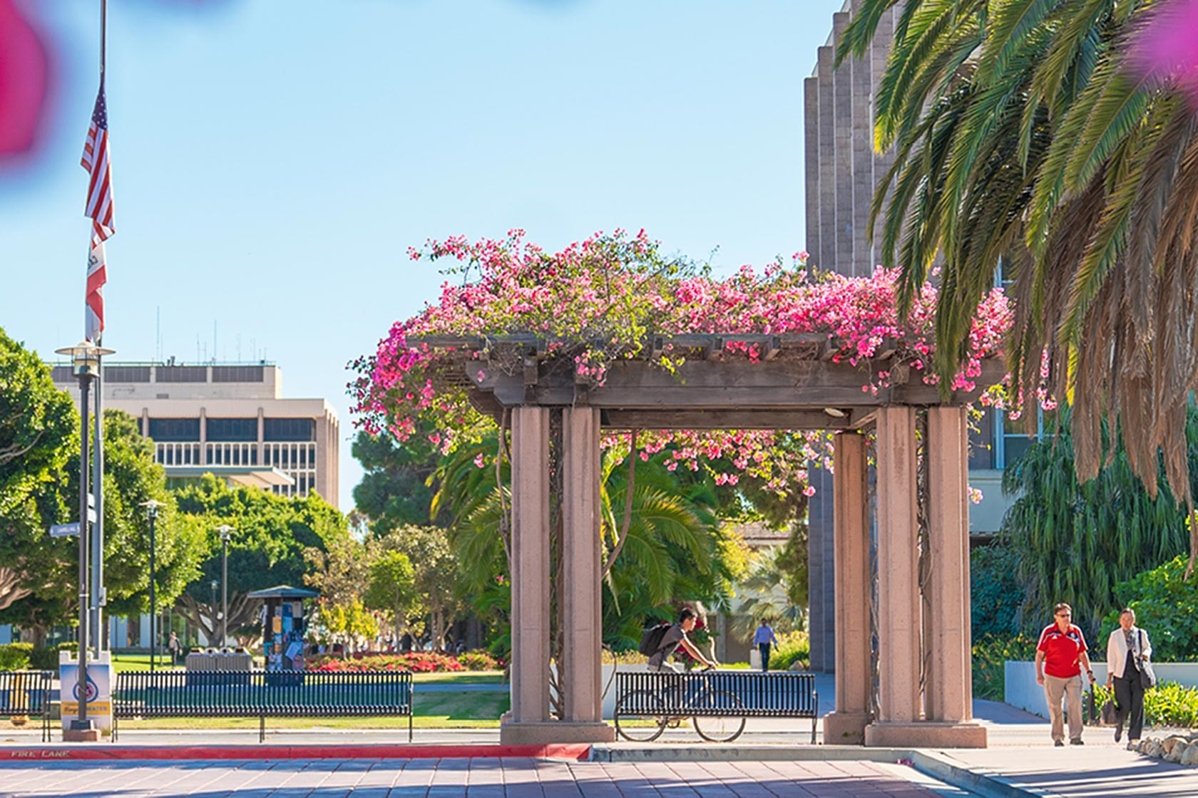 Beautiful UCSB Campus